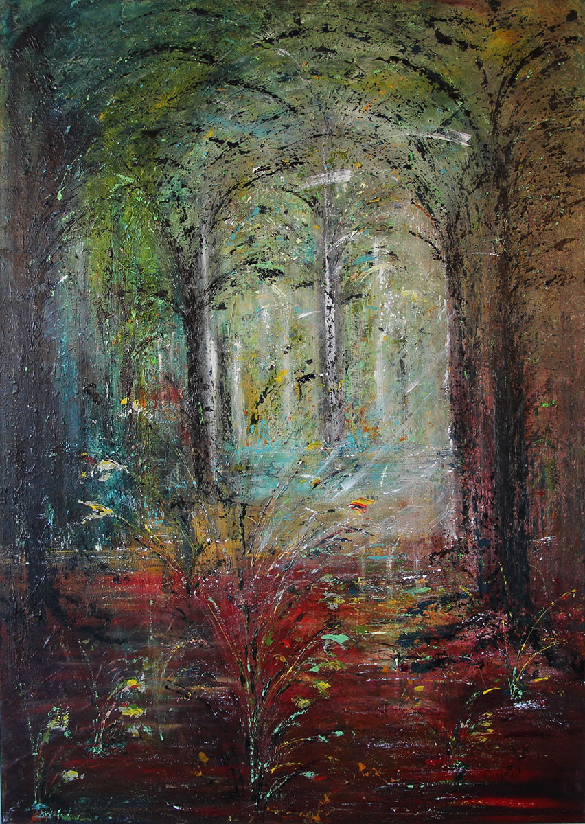 """""""Pathway to Light"""" Acrylic on canvas"""
